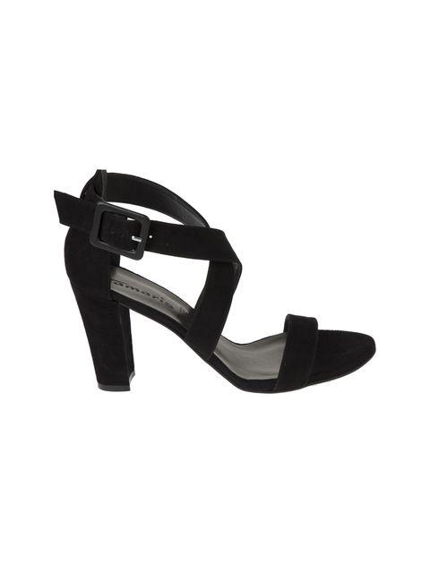 کفش پاشنه بلند جیر زنانه - تاماریس - مشکي - 1