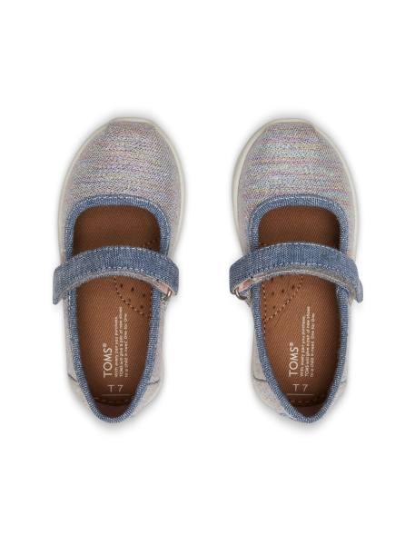کفش پارچه ای چسبی دخترانه MARY - چند رنگ - 3