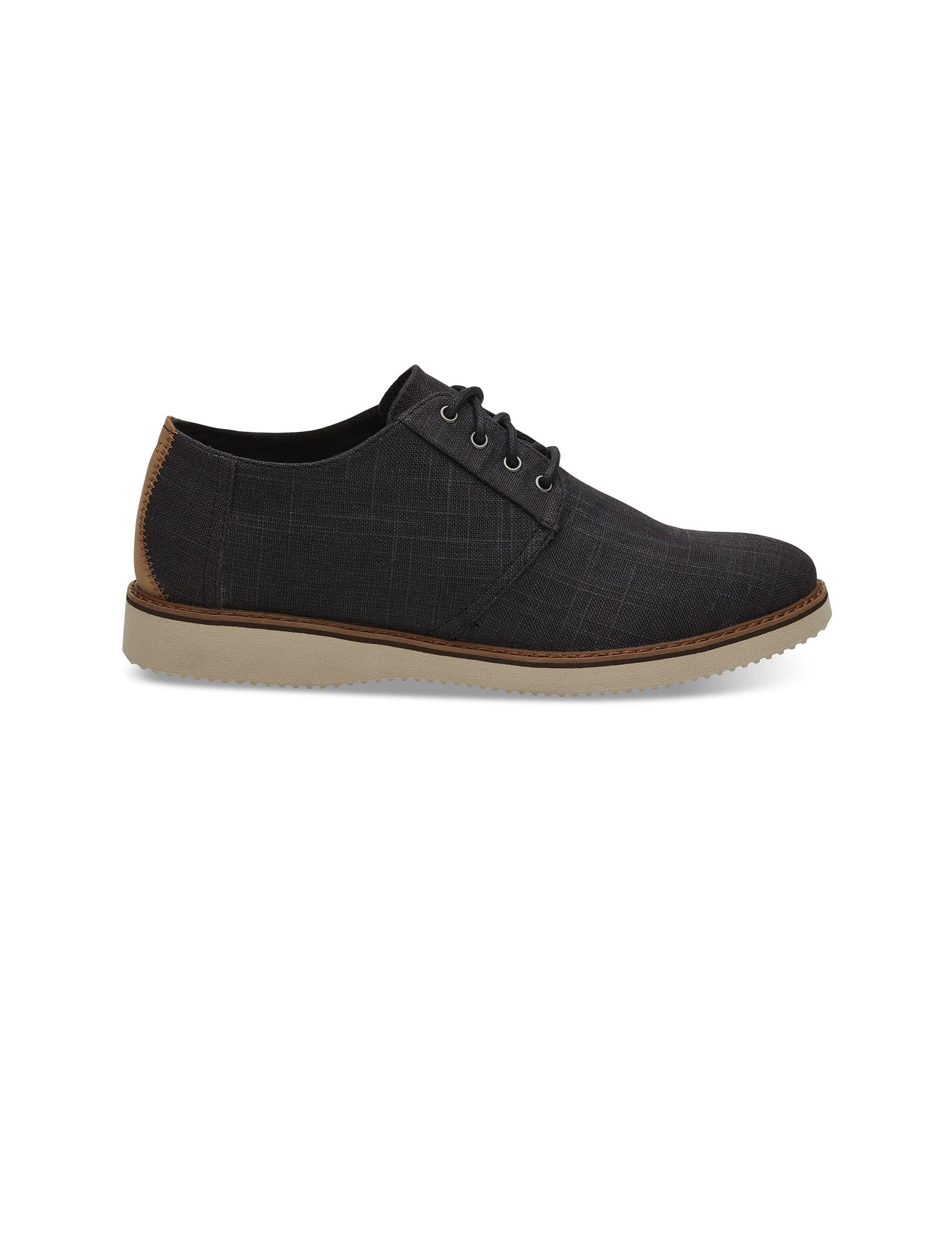 کفش اداری پارچه ای مردانه Preston Dress - مشکي - 1