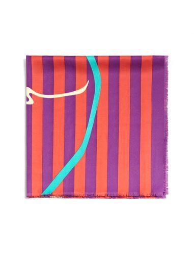 دستمال گردن طرح دار زنانه - مانگو
