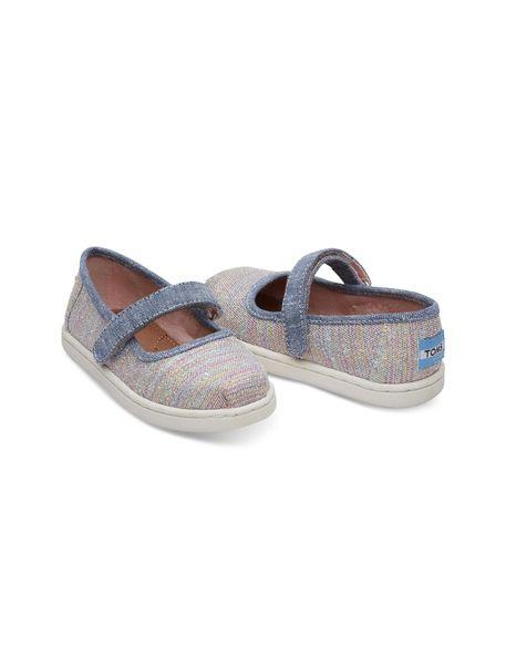 کفش پارچه ای چسبی دخترانه MARY - چند رنگ - 4