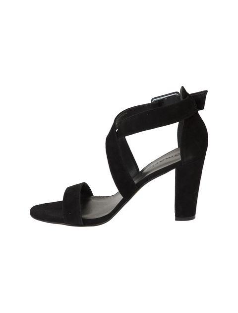 کفش پاشنه بلند جیر زنانه - تاماریس - مشکي - 4