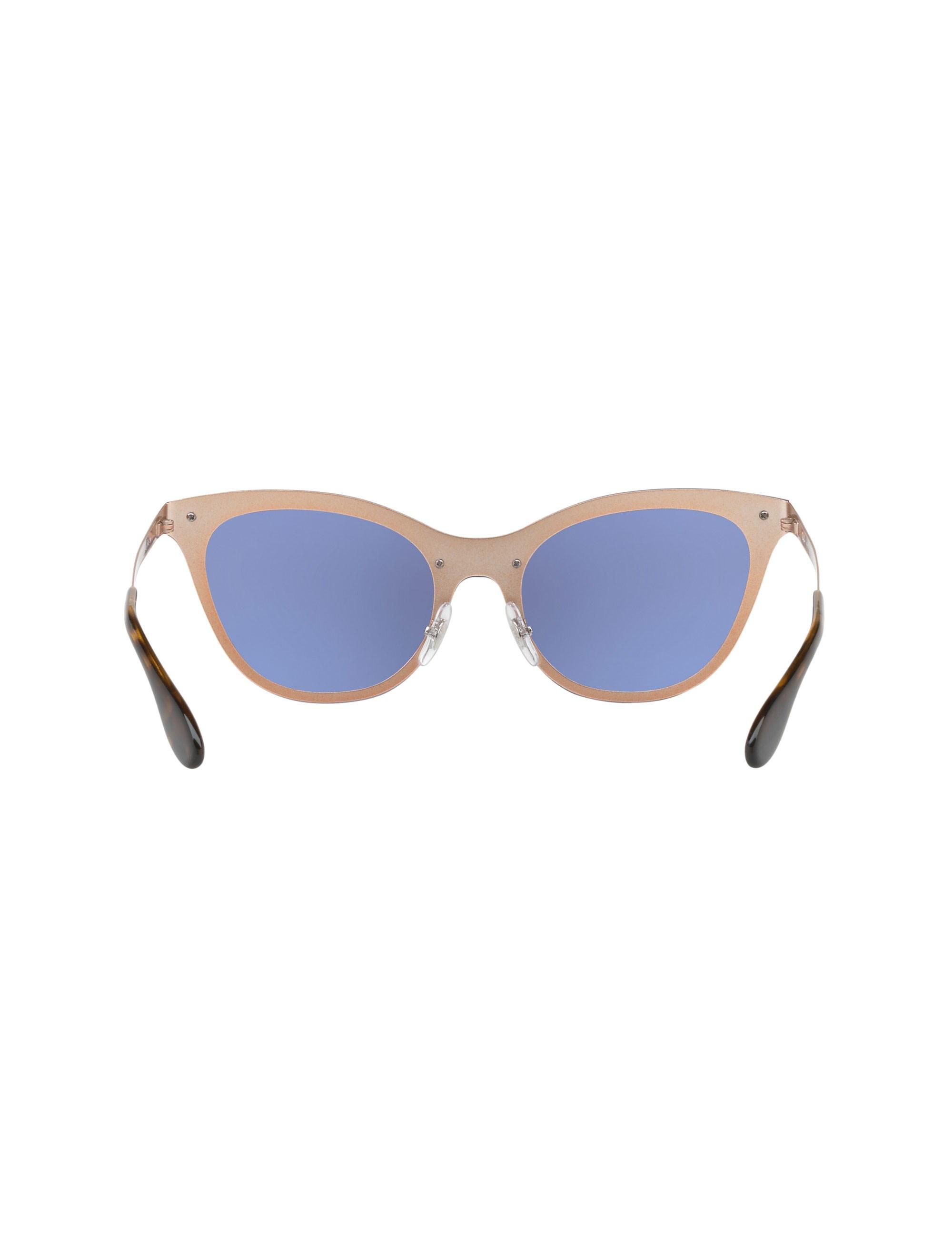 عینک آفتابی گربه ای زنانه - ری بن - مسي - 4