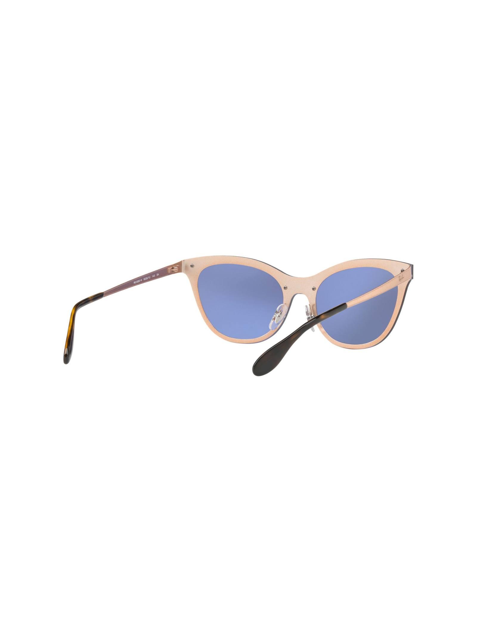 عینک آفتابی گربه ای زنانه - ری بن - مسي - 5