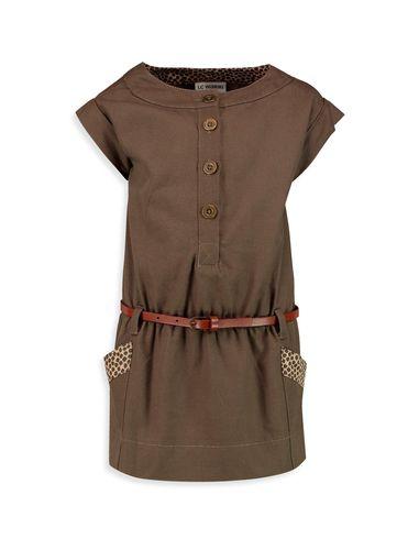پیراهن نخی روزمره دخترانه - ال سی وایکیکی