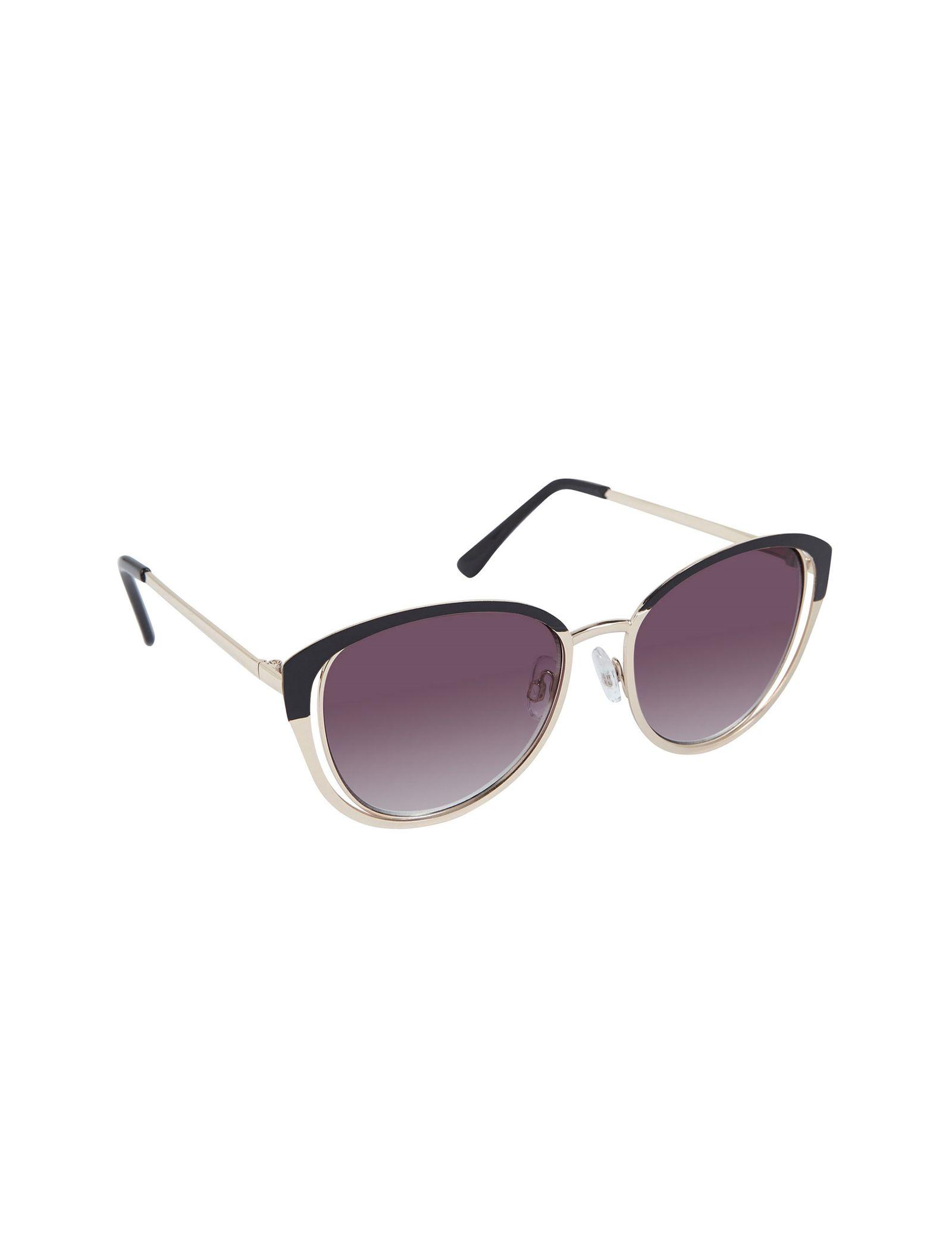 عینک آفتابی پروانه ای زنانه - کال ایت اسپرینگ - مشکي و طلايي - 1