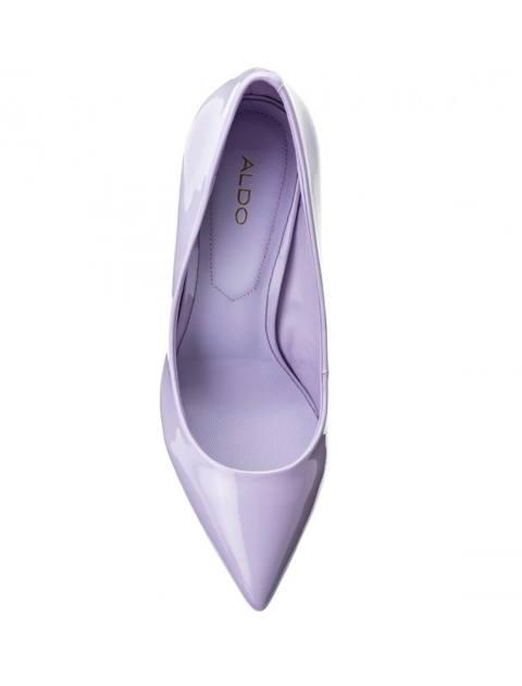 کفش پاشنه بلند زنانه - بنفش روشن - 3