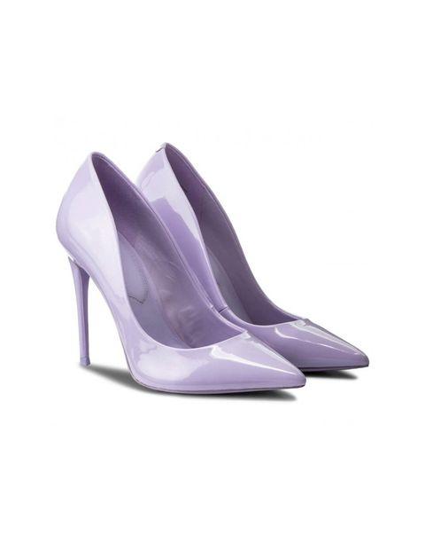 کفش پاشنه بلند زنانه - بنفش روشن - 4