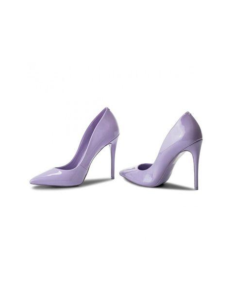 کفش پاشنه بلند زنانه - بنفش روشن - 5