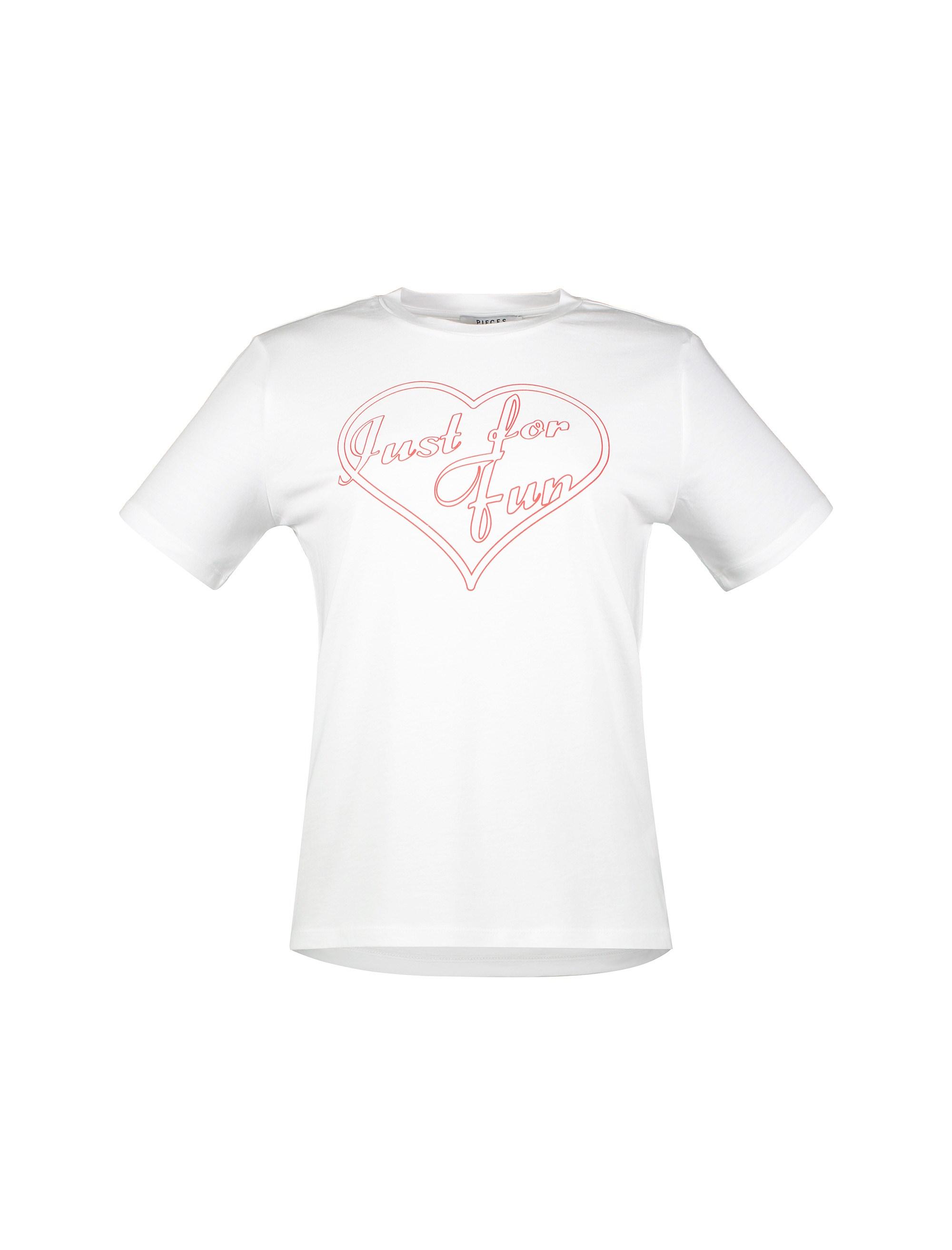 تی شرت یقه گرد زنانه - پی سز