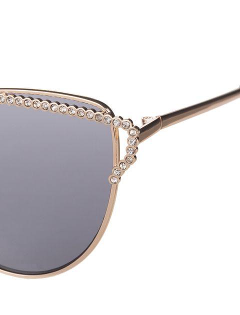 عینک آفتابی گربه ای زنانه - طلايي - 5