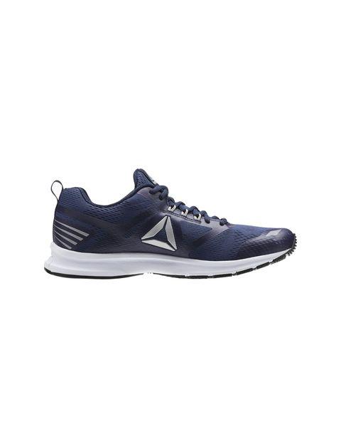 کفش دویدن بندی مردانه - سرمه اي - 1