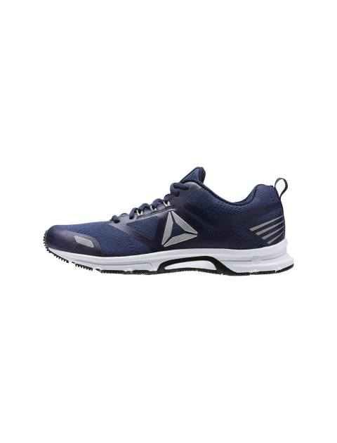 کفش دویدن بندی مردانه - سرمه اي - 3