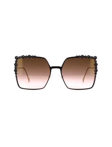 عینک آفتابی پروانه ای زنانه - فندی