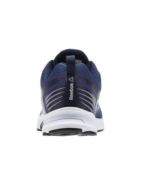 کفش دویدن بندی مردانه - سرمه اي - 5