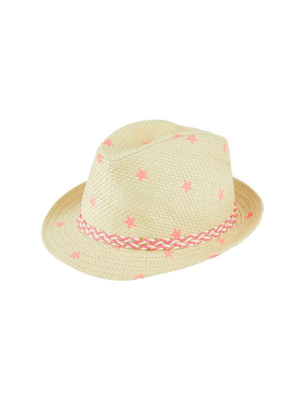 کلاه دخترانه Star Print Trilby
