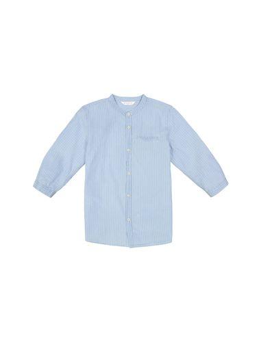 پیراهن نخی یقه گرد پسرانه