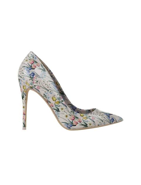 کفش پاشنه بلند زنانه - صورتي  - 1