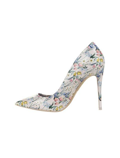 کفش پاشنه بلند زنانه - صورتي  - 3