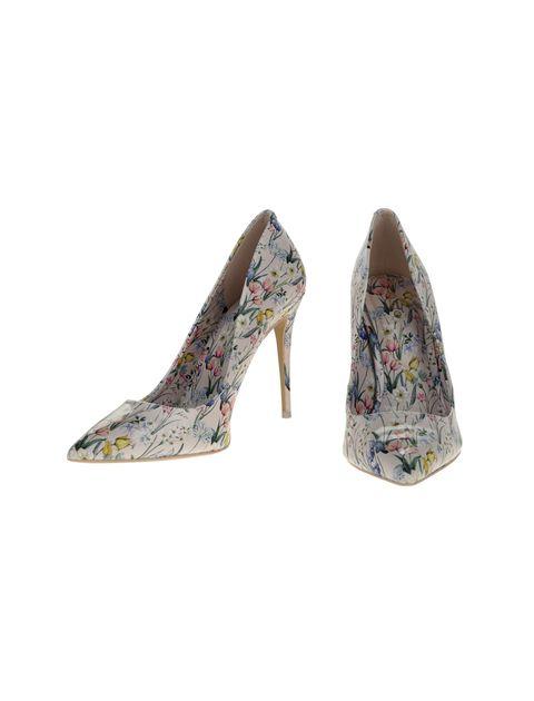 کفش پاشنه بلند زنانه - صورتي  - 4