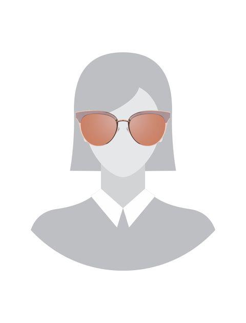 عینک آفتابی پنتوس زنانه - صورتي - 6