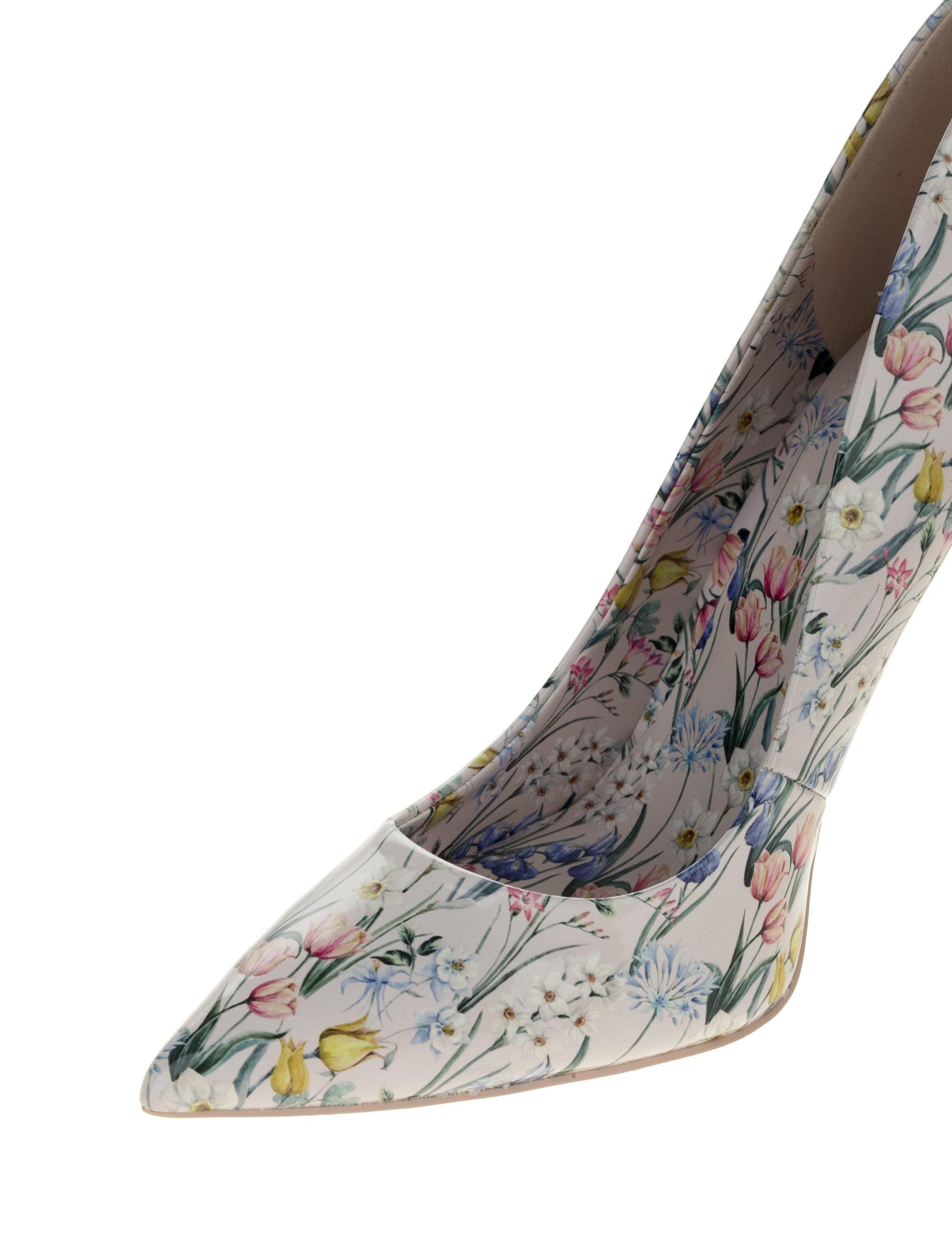 کفش پاشنه بلند زنانه - صورتي  - 6