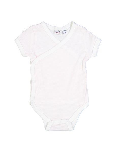 بادی نخی  نوزادی دخترانه بسته 2 عددی - White Pink  - 2