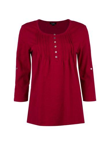 تی شرت نخی آستین بلند زنانه - یوپیم
