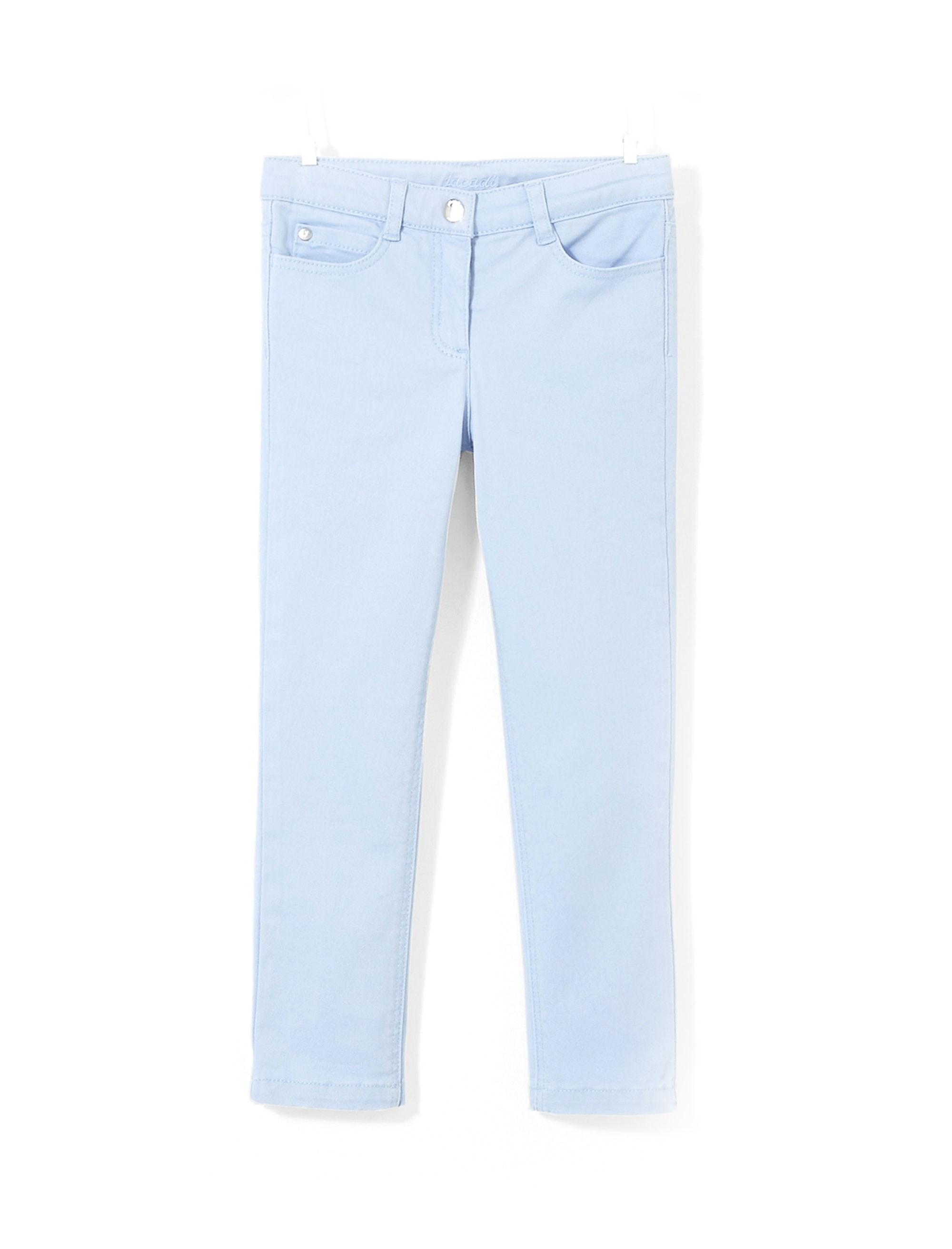 شلوار جین راسته دخترانه Eleonore - جاکادی - آبي روشن - 1