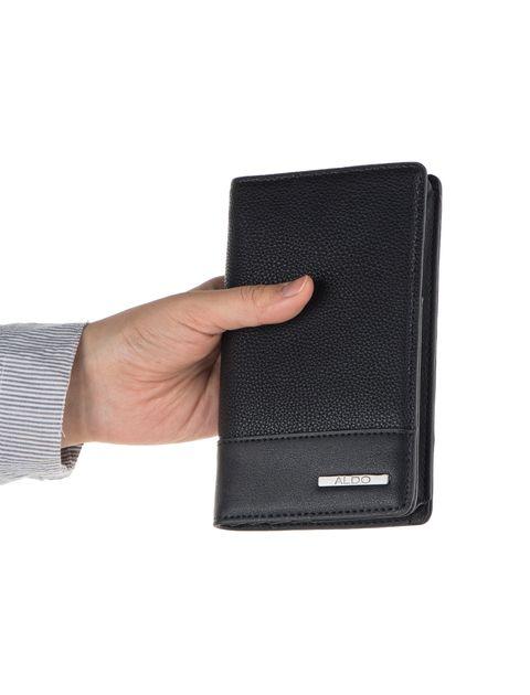 کیف پول کتابی مردانه - آلدو - مشکي - 6