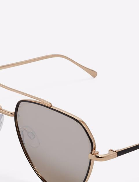 عینک آفتابی خلبانی مردانه - آلدو - طلايي - 6