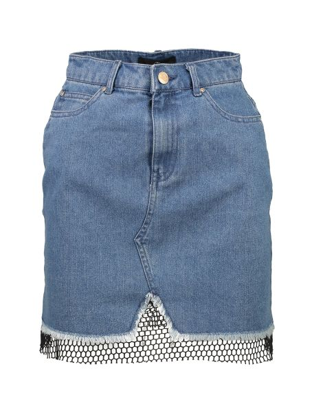دامن جین کوتاه زنانه - میسگایدد