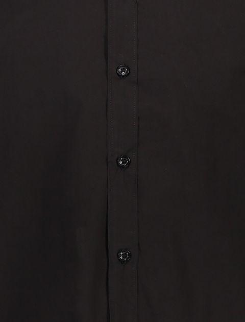 پیراهن نخی آستین بلند مردانه - آر اِن اِس - مشکي - 4