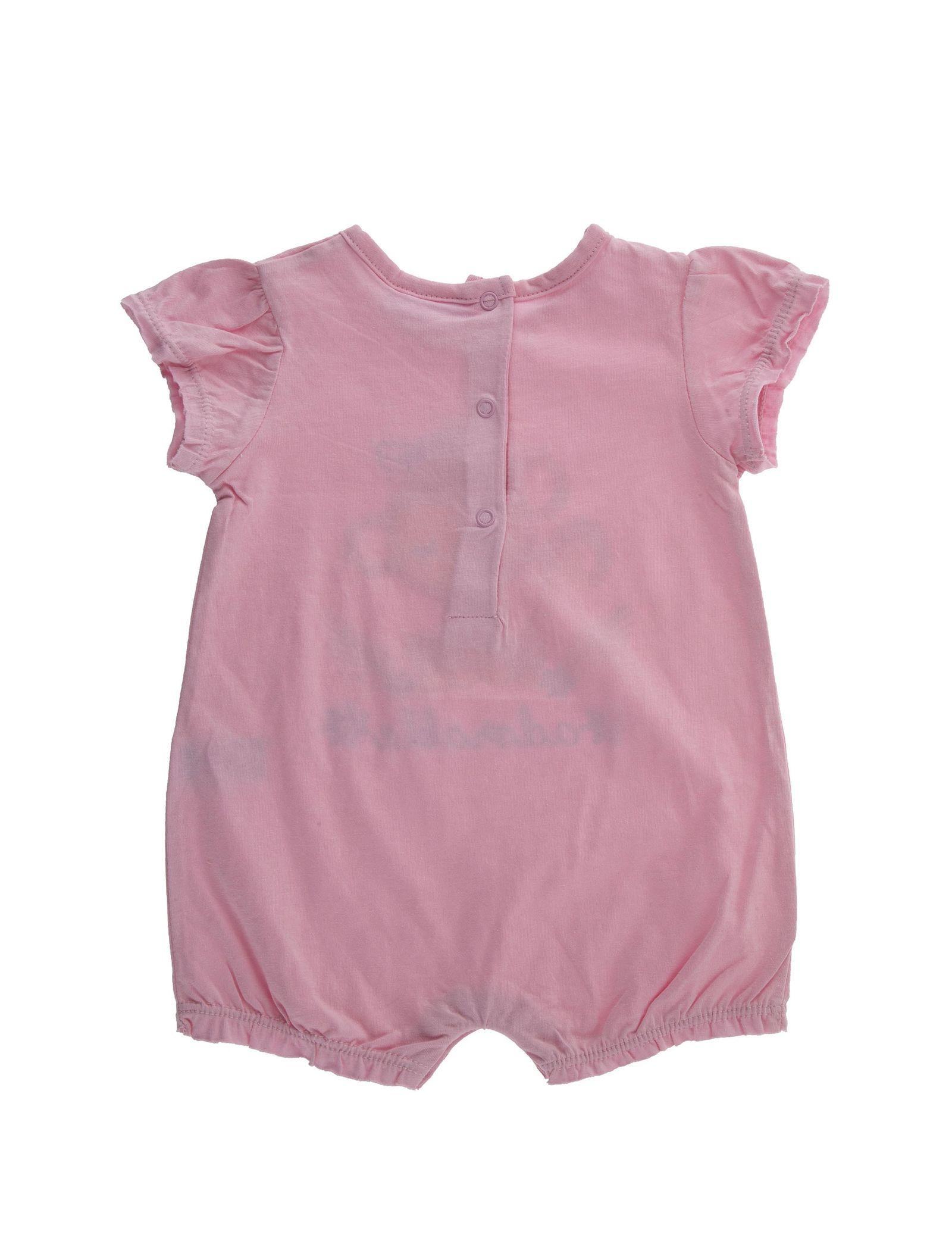 سرهمی نخی ساده نوزادی دخترانه بسته 2 عددی - بلوکیدز - صورتي / سفيد - 3