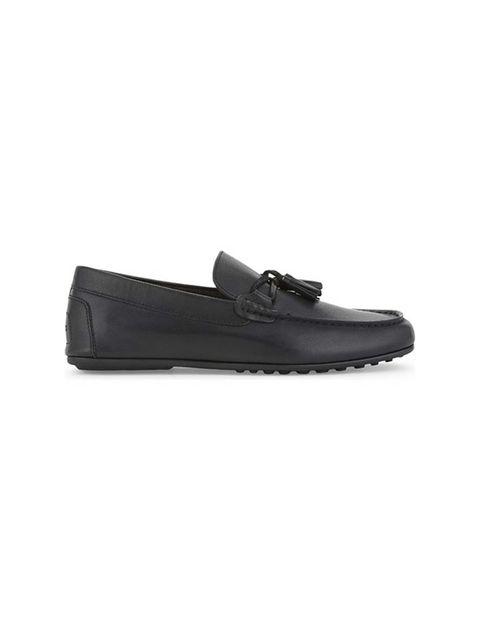 کفش راحتی چرم مردانه - مشکي - 1