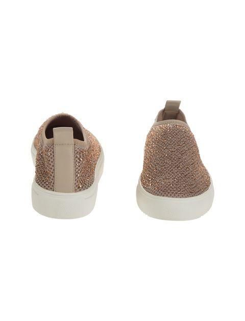 کفش تخت پارچه ای زنانه - کال ایت اسپرینگ - کرم صورتي - 5