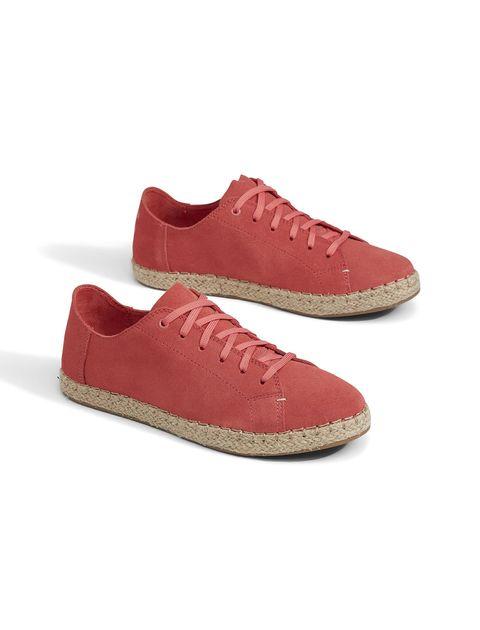 کتانی جیر بندی زنانه LENA - تامز - قرمز - 3