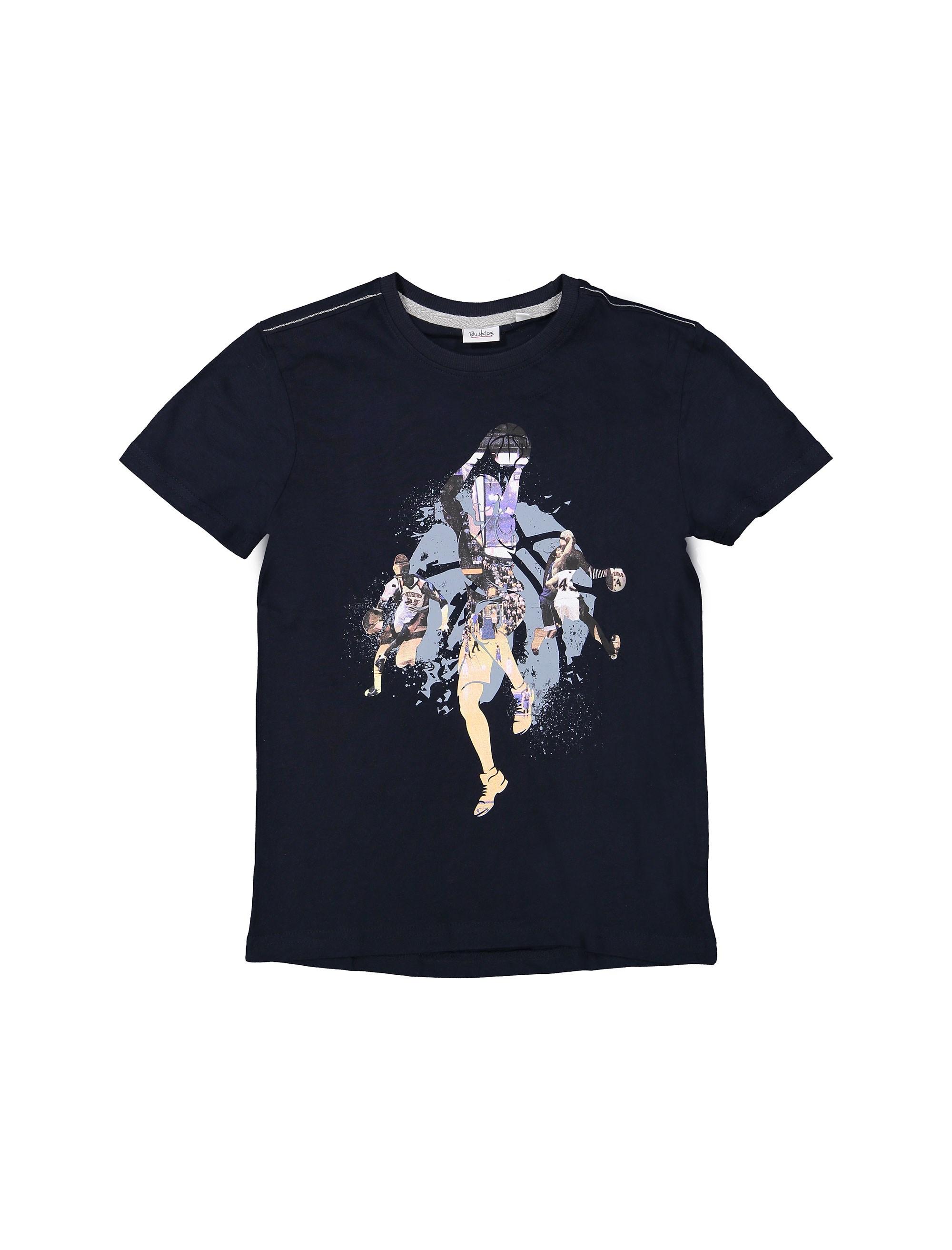 تی شرت و شلوارک نخی پسرانه - بلوکیدز