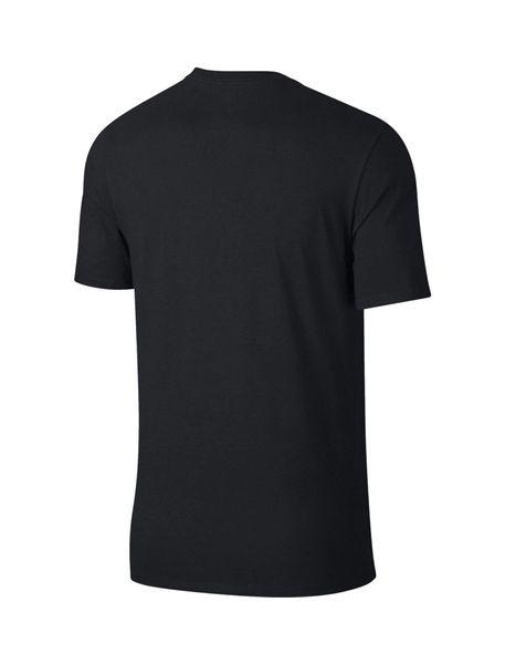 تی شرت نخی یقه گرد مردانه Just Do It - مشکي - 3