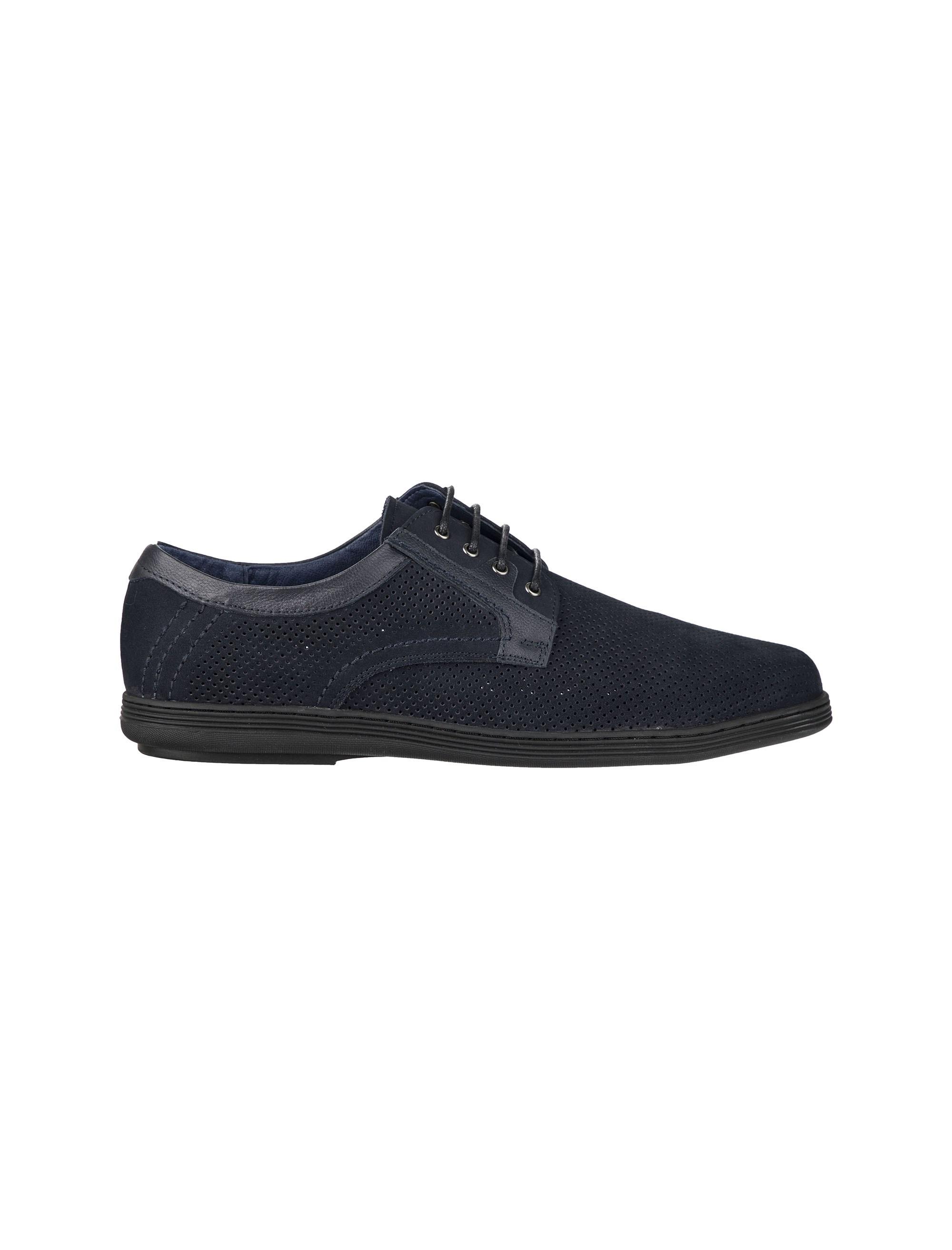 کفش اداری چرم بندی مردانه