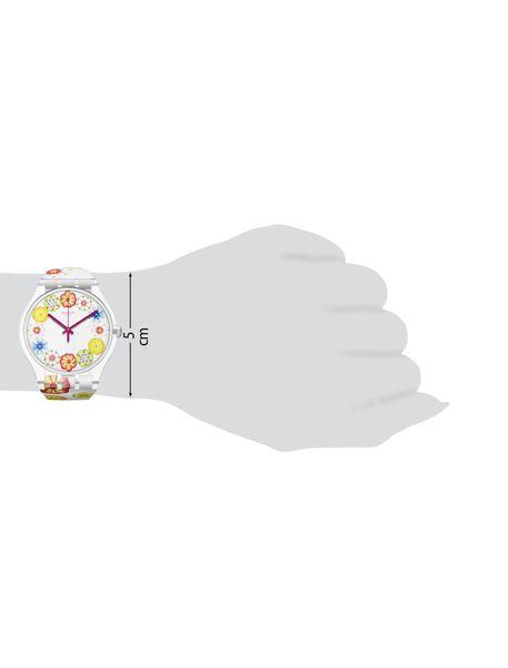 ساعت مچی عقربه ای زنانه - سفيد - 5