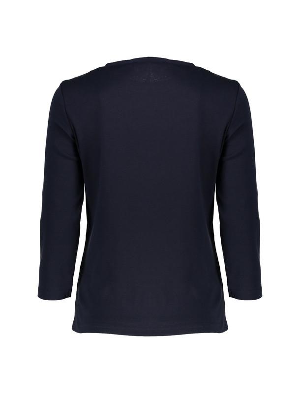 تی شرت نخی آستین بلند زنانه