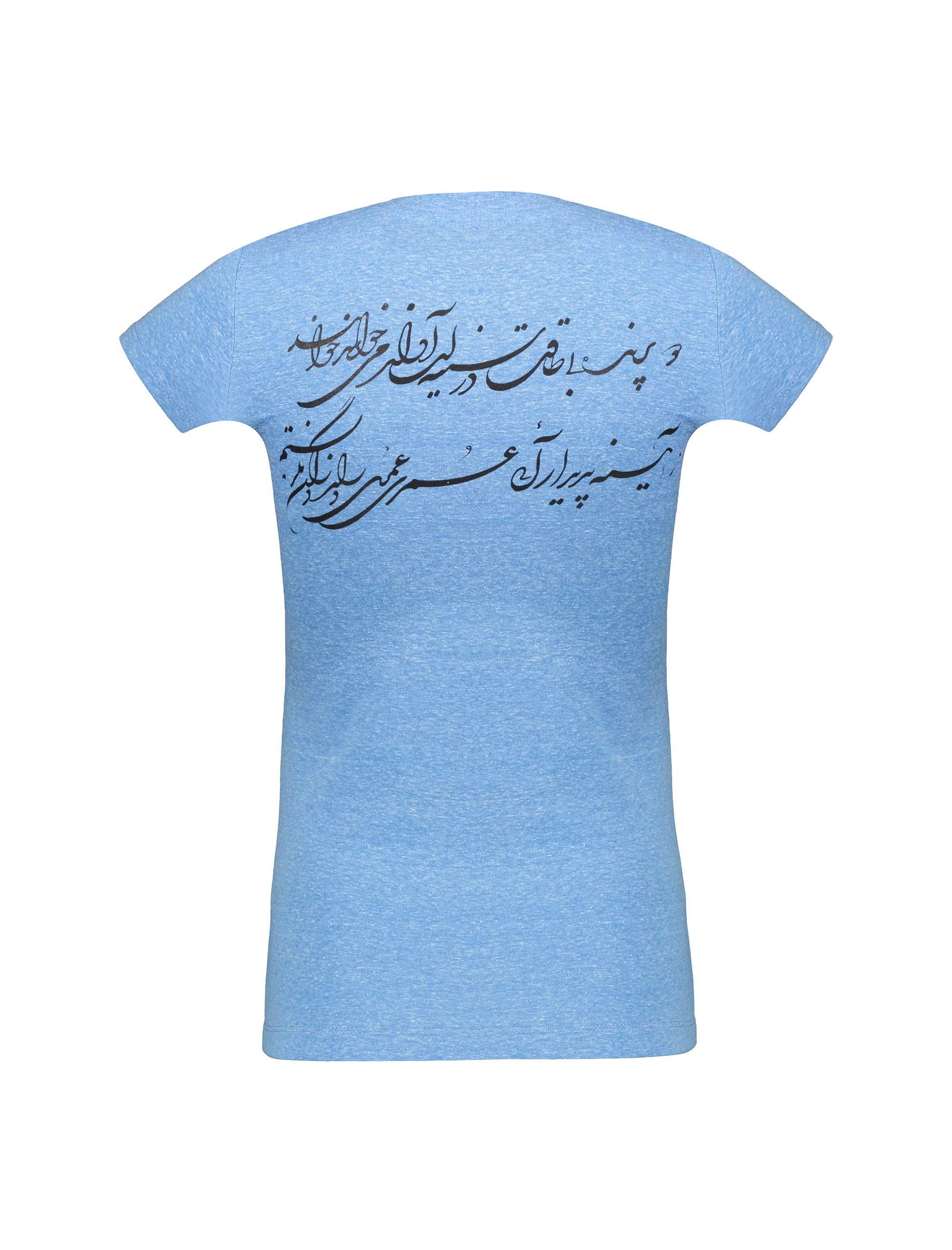تی شرت یقه گرد زنانه - متی