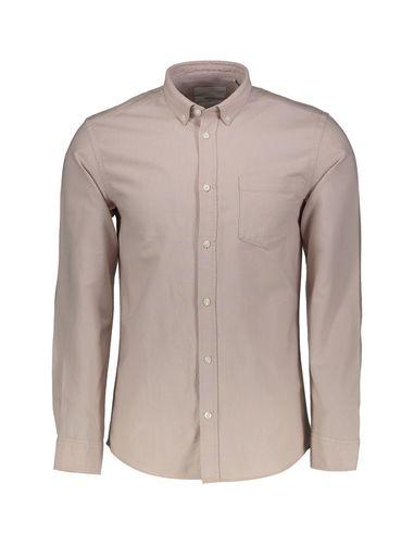پیراهن نخی آستین بلند مردانه Jay 2.0 - مینیموم