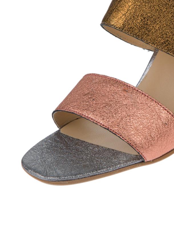 کفش پاشنه بلند چرم زنانه - ژوناک