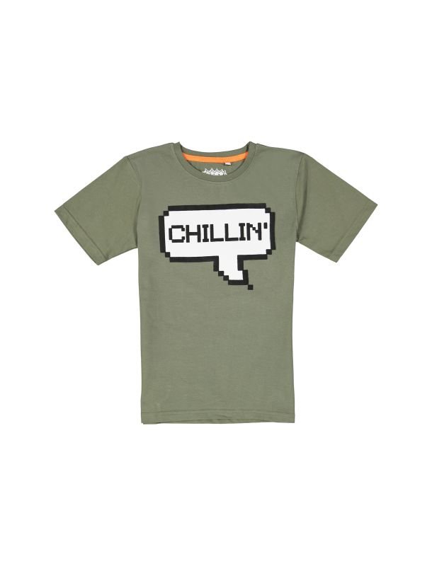 تی شرت و شلوارک راحتی نخی پسرانه - بلوزو