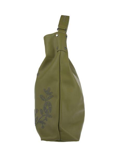 کیف دستی زنانه - سبز - 4
