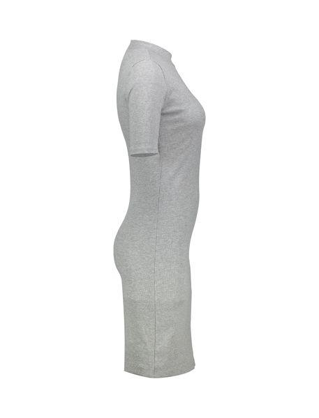 پیراهن میدی زنانه - طوسي روشن - 3