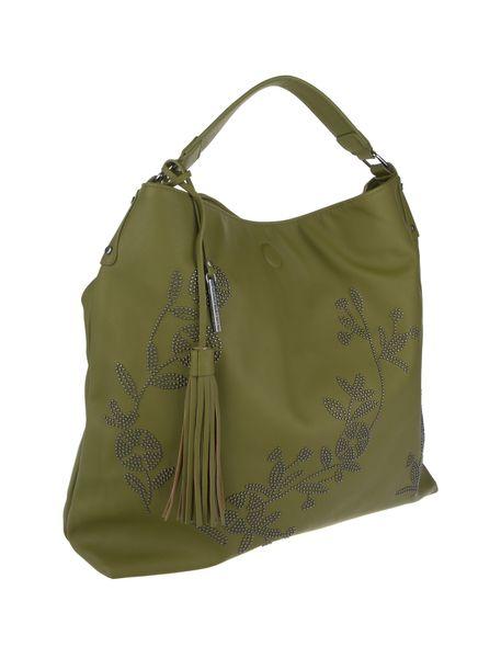 کیف دستی زنانه - سبز - 5