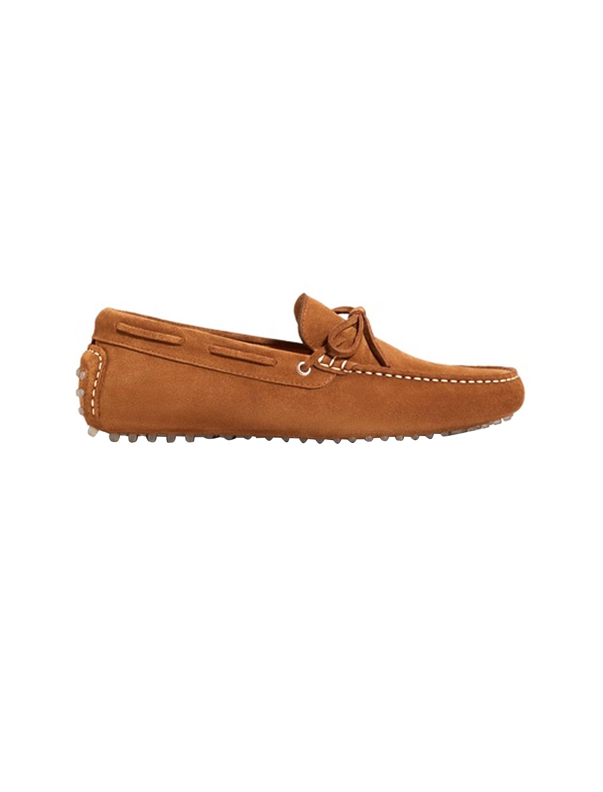 کفش راحتی چرم مردانه - مانگو